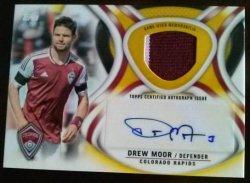 2013 Topps MLS Autographed Relics Set Drew Moore 29/50