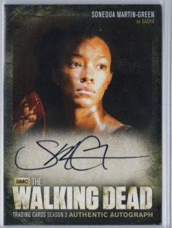 2014  The Walking Dead Season 3 Part 2 SONEQUE MARTIN-GREEN (SASHA)