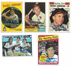 1959, 196 Topps  TTM Brooks Robinson 10/18/21