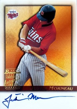 2001 Bowman  Justin Morneau
