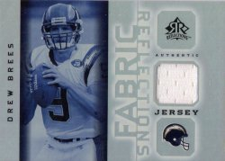 2005 Upper Deck Reflections Fabrics Drew Brees