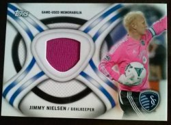 2013 Topps MLS Kits Relics Set Jimmy Nielsen