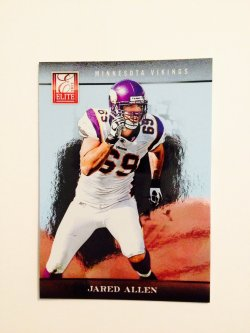 2012 Panini Elite Jared Allen