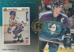 1998/99 Upper Deck Gold Reserve Selanne (Rookie Rewind)