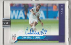 2019 Panini Instant Crystal Dunn 2019 Womens World Cup Champions Autograph
