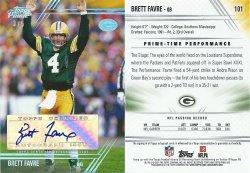 2014 Topps Prime Autographs Silver Rainbow #101V Brett Favre
