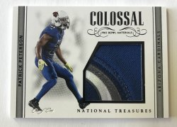 2017 Panini National Treasures Colossal Pro Bowl Patch Patrick Peterson 1/1