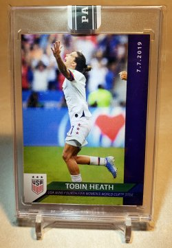 2019 Panini Instant Green Tobin Heath
