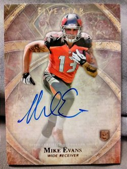 2014 Topps Five Star  Mike Evans Rookie Autograph