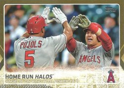 2015 Topps Update Gold Mike Trout/Albert Pujols