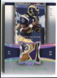 2005 Upper Deck Exquisite Collection Steven Jackson Holofoil