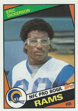 1984 Topps  Eric Dickerson