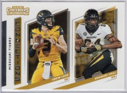 2019 Panini Contenders Draft Picks Emanuel Hall Connections