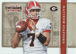 2015 Panini Contenders Old School Colors  Matthew Stafford