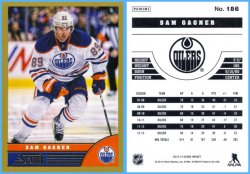 2013-14 Panini Score Gold Parallel Sam Gagner