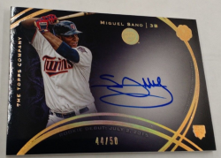 2016 Topps The Mint Miguel Sano Auto