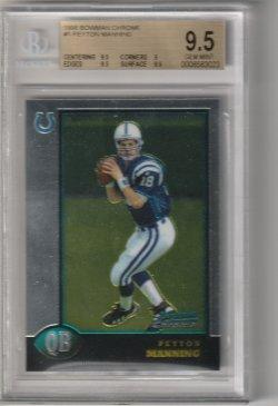 1998 Bowman Chrome Peyton Manning