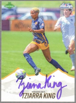 2020  Parkside NWSL Challenge Cup Signature Series Tziarra King