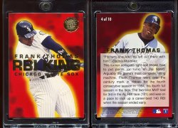 1995  Ultra RBI King Gold Medallion Frank Thomas