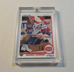 2014/15 Upper Deck 25th Anniversary Patrick Roy 1990/91 Buyback Autograph /25