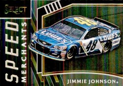 2017 Panini Select Racing Jimmie Johnson
