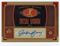 2012 Upper Deck SP Signature Jason Bay