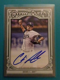 2013 Topps Gypsy Queen Chris Archer