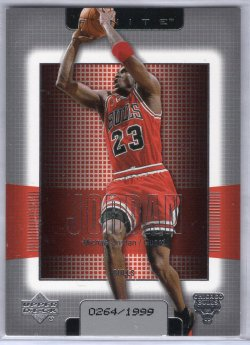 2003 Upper Deck Finite Michael Jordan