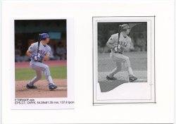 2006 Topps eTopps Mark Teixeira Photo Proof