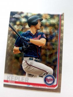 2019 Topps Chrome Max Kepler Superfractor
