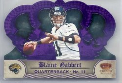 2011 Panini Crown Royale Purple Blaine Gabbert