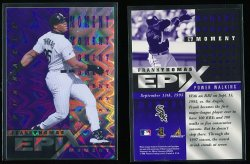 1998   Pinnacle Epix Moment Purple Frank Thomas