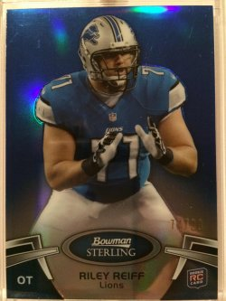 2012 Topps Bowman Sterling Blue Refractors 3