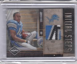 2010 Panini Limited Initial Steps Jerseys Prime Jahvid Best