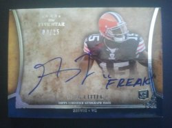 2011 Topps Five Star Futures Quotable Autographs #FSFQA-GL Greg Little