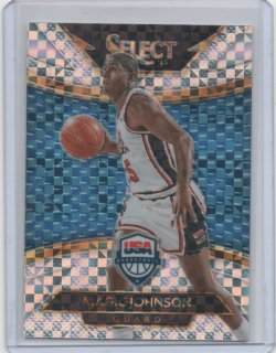 2014 Panini select Magic Johnson courtside
