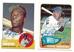 1963 Topps & 1965 Topps TTM Floyd Robinson 3/3/21