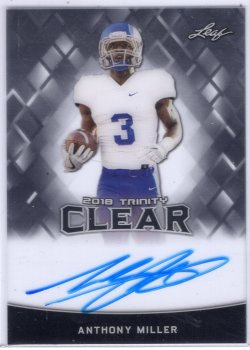 2018 Leaf Trinity Anthony Miller Clear Auto