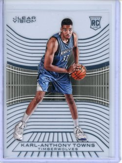 2015-16 Panini Clear Vision Karl-Anthony Towns RC