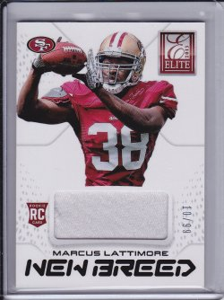 Marcus Lattimore 2013 Elite New Breed Jerseys Prime /99