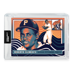 2020 Topps Project 2020 Roberto Clemente by Matt Taylor