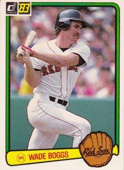 1983 Donruss  Wade Boggs