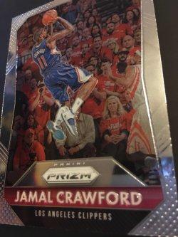 2015 Panini prizm NBA JAMAL CRAWFORD  #142  Michigan Wolverines LA Clippers Bulls G