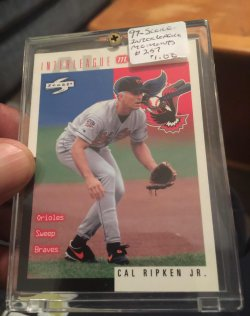 1997 Score  Inter league Moments-#257