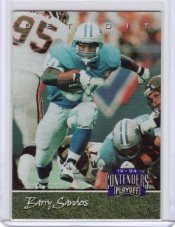 1994 Playoff Contenders Barry Sanders