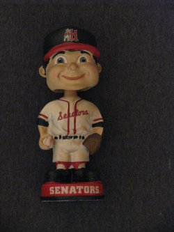 Forever Collectibles Harrisburg Senators Retro Bobblehead - Old Logo