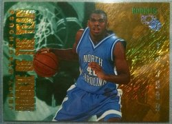1995  Classic Basketball Rookies Jerry Stackhouse rookie of the year redemption