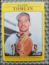 1991 Fleer  Randy Tomlin