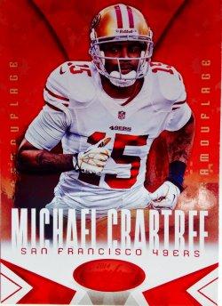 2014 Panini Certified Hot Box Camouflage   Michael Crabtree