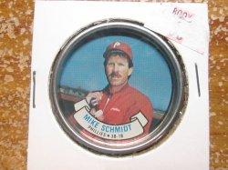 1987  Topps Topps Coin MIKE SCHMIDT